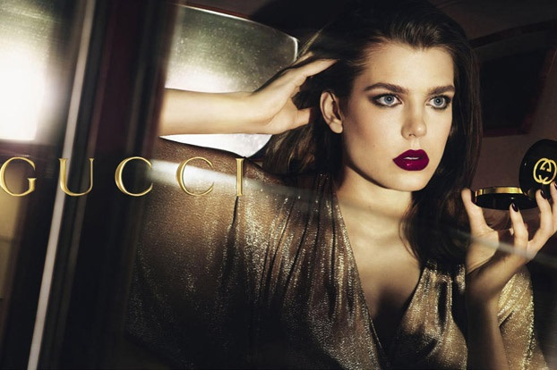 Charlotte Casiraghi of Monaco for Gucci Cosmetics
