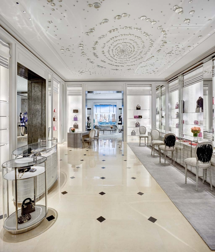 LA Experience: Dior store in Beverly Hills