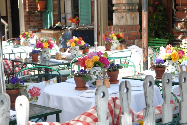 LA Experience: Lunch at The Ivy in Los Angeles