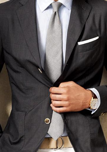 Masculine style - mylusciouslife - menswear man suit tie