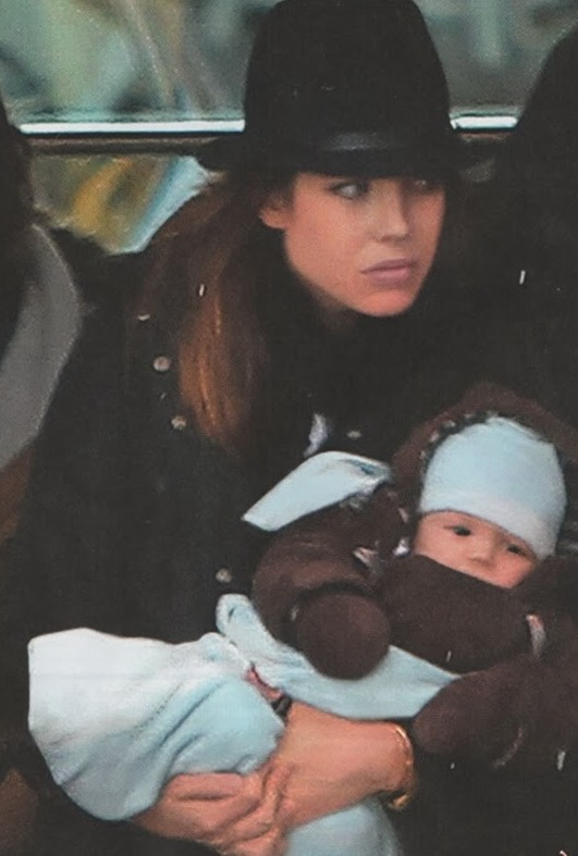 Photo - baby Raphael son of Charlotte Casiraghi of Monaco and Gad Elmaleh