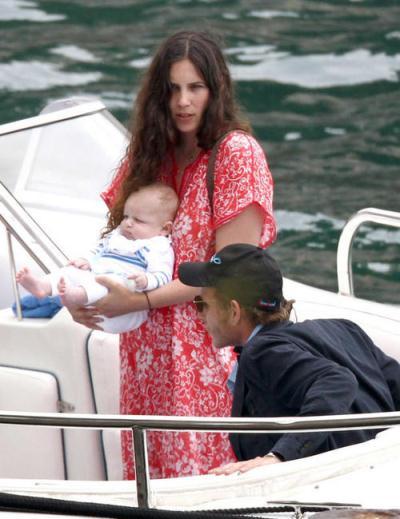 Monaco baby boom: Tatiana and baby Sacha