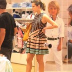Pregnant Charlotte Casiraghi shows baby bump in Capri