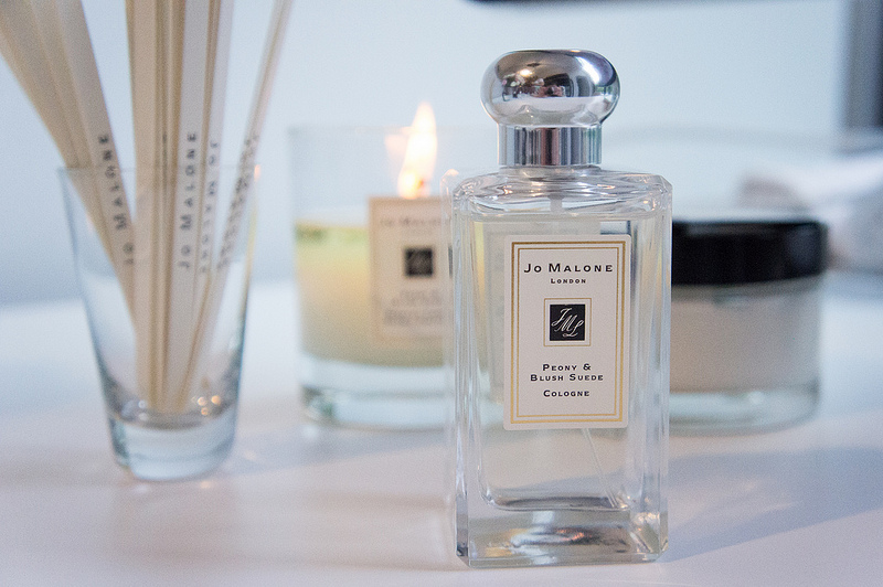 Peony & Blush Suede Cologne from Jo Malone