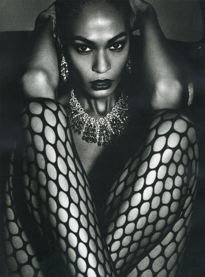 A sensual life: Joan Smalls by Mario Sorrenti for Vogue Paris June July 2013