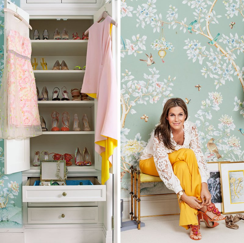 famous folk at home: aerin lauder in her park avenue new york