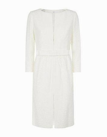 Kate and Pippa Middleton style: Paule Ka ivory lace dress coat