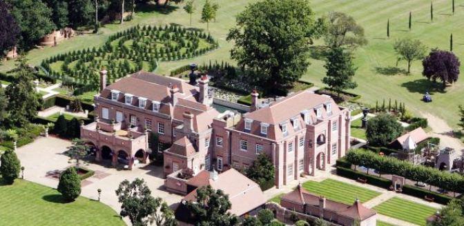 Rowneybury House aka Beckingham Palace in Sawbridgeworth Hertfordshire