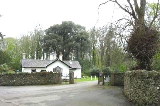 The back lodge of Bodorgan Estate in Wales