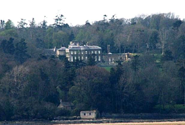 View of the estate of lord and lady meyrick at bodorgan in wales where