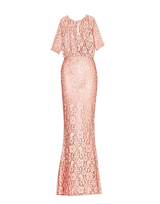 Blouson Lace Gown by Moschino Cheap & Chic