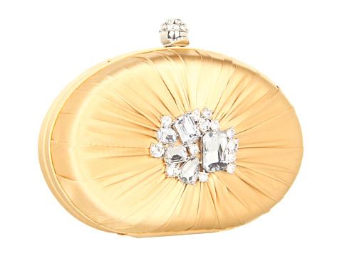 Franchi Adelina round gold clutch