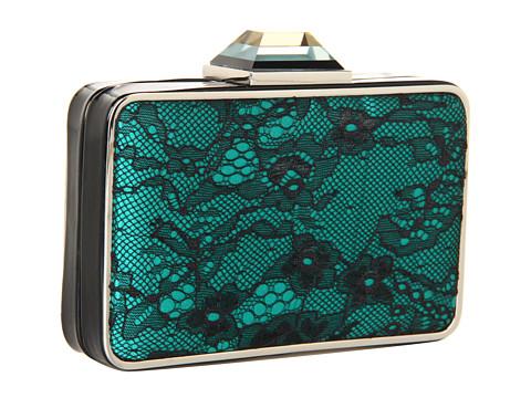 Franchi handbags - Dulce emerald clutch bag