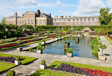 The New Home Of Prince William, Kate And George   Kensington Palace In  London