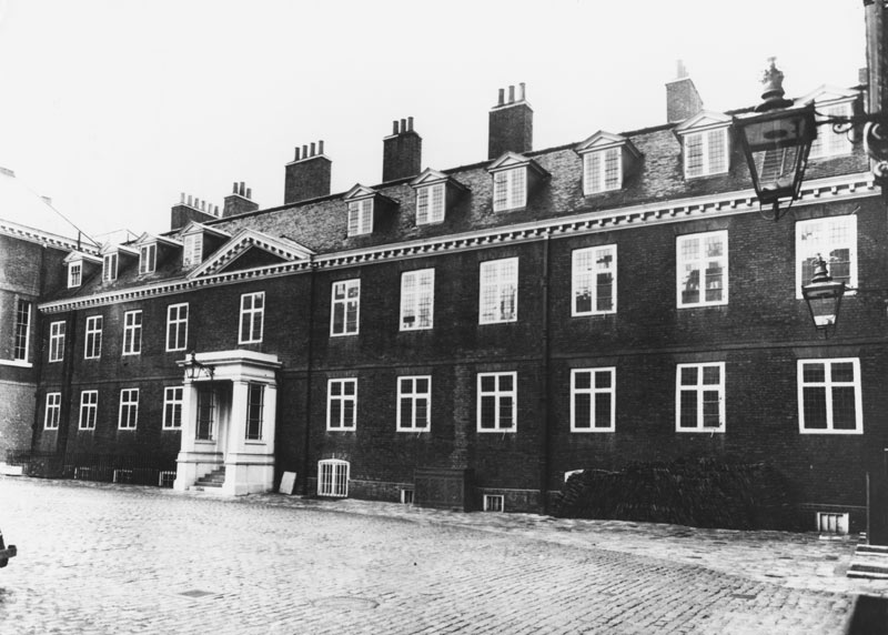 Kensington Palace pictured here in 1961