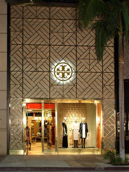 Tory Burch Rodeo Drive store - Exterior