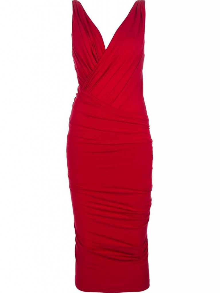 SHOP THIS LOOK: Red cocktail dresses inspired by Roland Mouret