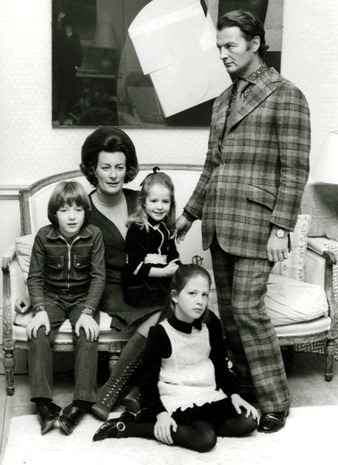 The Hicks family - David, Pamela, Ashley, Edwina and India Hicks