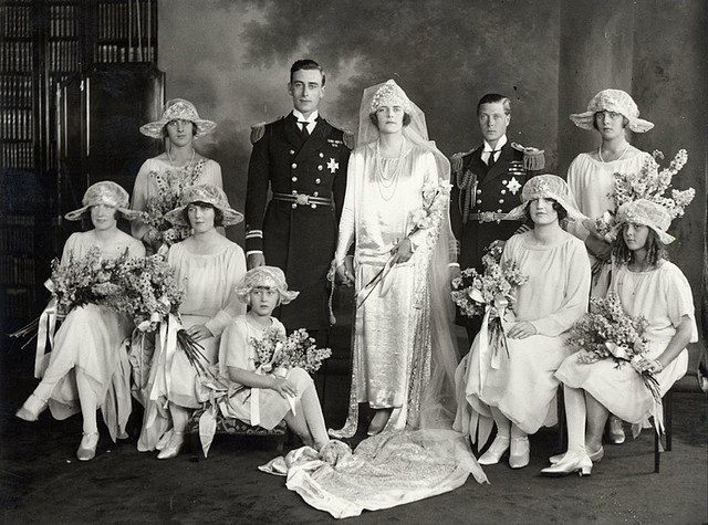 Edwina Ashley wedding to Lord Louis Mountbatten