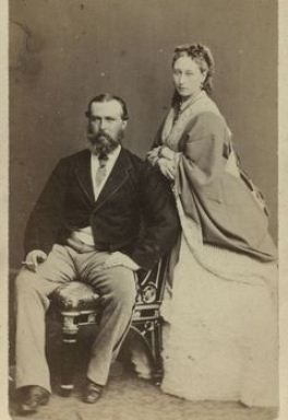 Louis IV Grand Duke of Hesse and Princess Alice of the United Kingdom, daughter of Queen Victoria and Prince Albert