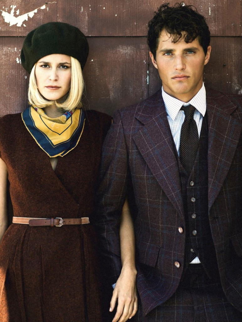 Bonnie and Clyde fashion editorial