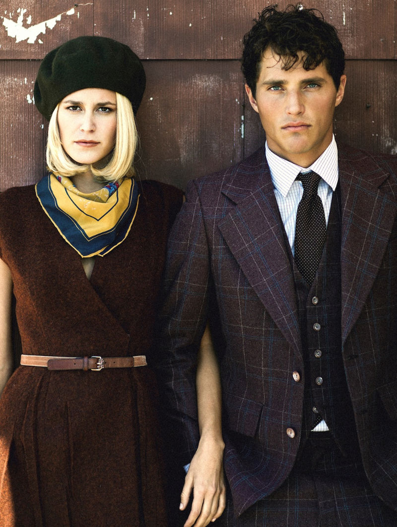 EDITORIAL: Ollie Edwards and Elise Digby by Aram ...