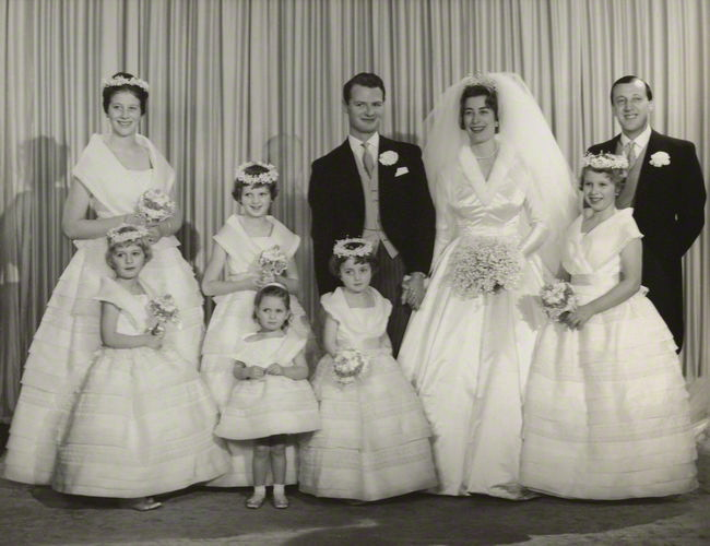 The wedding of David Hicks and Lady Pamela Mountbatten