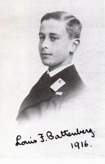 Young Prince Louis of Battenberg, later Lord Louis Mountbatten