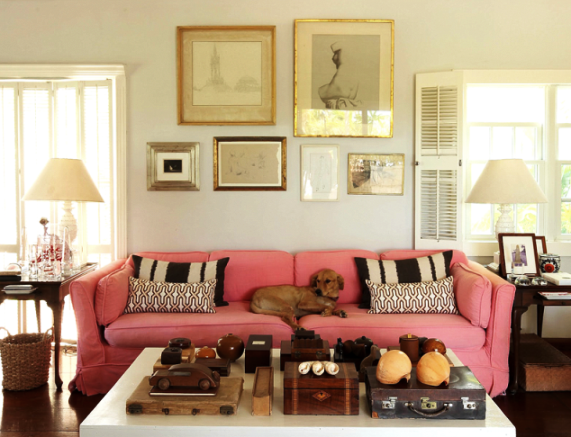 FAMOUS FOLK AT HOME At home with India Hicks and David Flint Wood