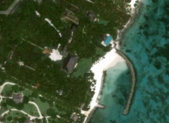 View of Oscar's Dominican Republic beach house