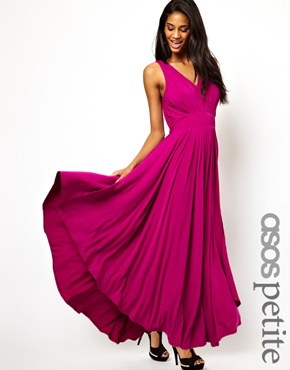 ASOS PETITE Exclusive Grecian Maxi Dress