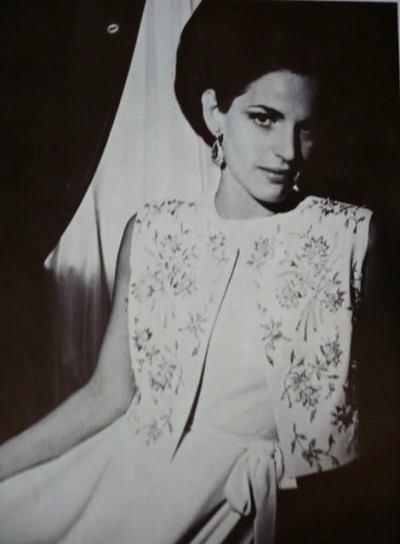 Annette de la Renta when she was Mrs Samuel Pryor Reed