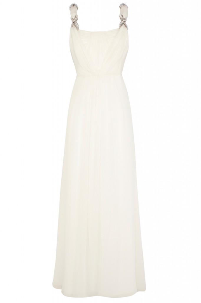 Grecian - COAST white Avlyn maxi dress