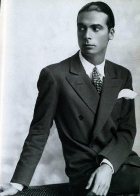 Legendary designer Cristobal Balenciaga