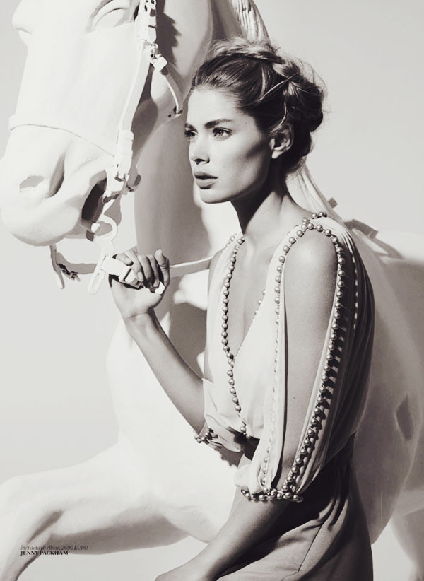 LADYLIKE: Doutzen Kroes by Cuneyt Akeroglu for Vogue Turkey March 2014