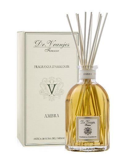 LUSCIOUS ROOM SCENT: Dr Vranjes Ambra fragrance room diffuser