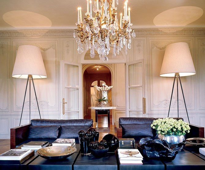 Elie Saab's Paris apartment