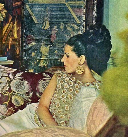 Annette Engelhart Reed before she became Mrs de la Renta