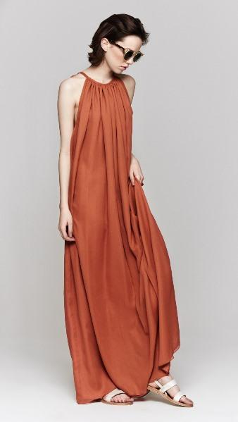 GRECIAN STYLE: Heidi Merrick - Grecian Dress S M - MM Sienna