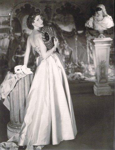 Annette de la Renta's mother, Jane Engelhard in a 1949 photo by Horst