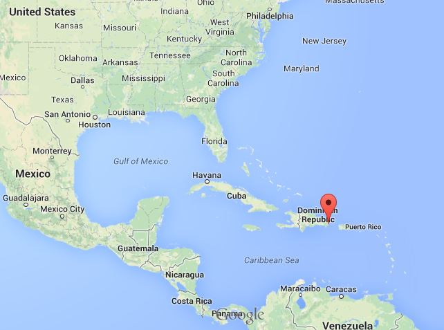 Punta Cana Location On World Map ~ AFP CV