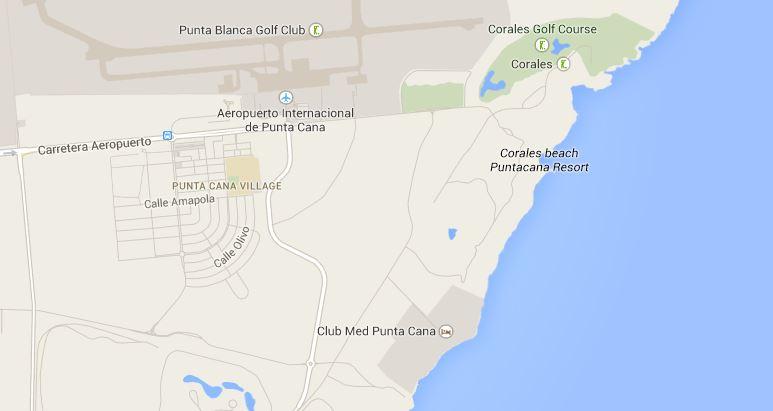MAP - Oscar de la Renta Punta Cana beach house