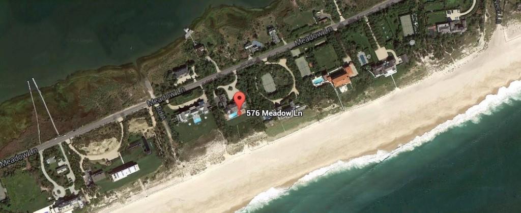 AERIAL 576 Meadow Lane Southampton NY 11968 - Nancy Meyers - Somethings Gotta Give house
