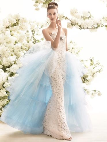 Wedding dresses for the rich and famous - Oscar de la Renta