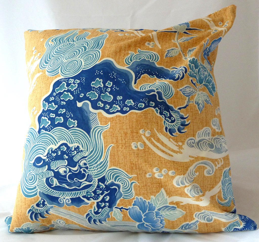 THE BEST OF ETSY: Brunschwig ShiShi cushion from Luxe cushions on etsy