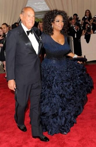 Costume Institute Gala - Oprah Winfrey wears Oscar de la Renta - May 2010