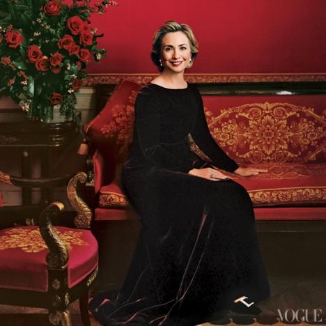 December 1998 Hillary Clinton covers Vogue magazine
