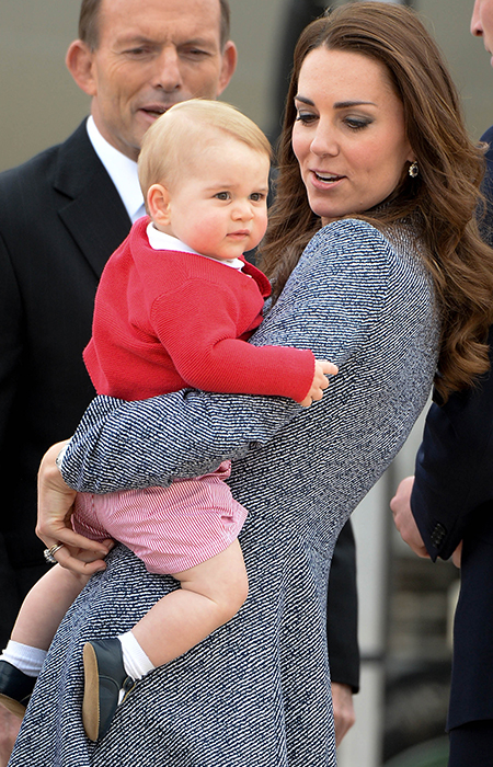 Adorable Prince George of Cambridge photos