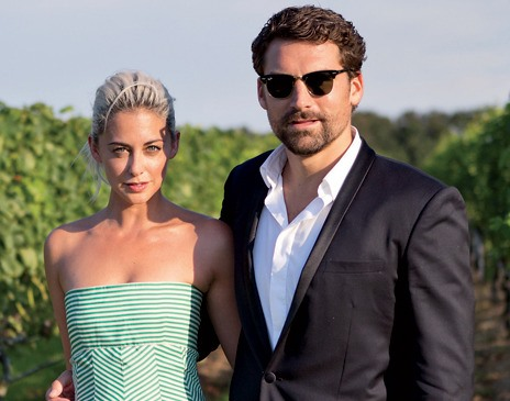 Erika aka Oscar PR Girl, and husband Jonathan Bearman