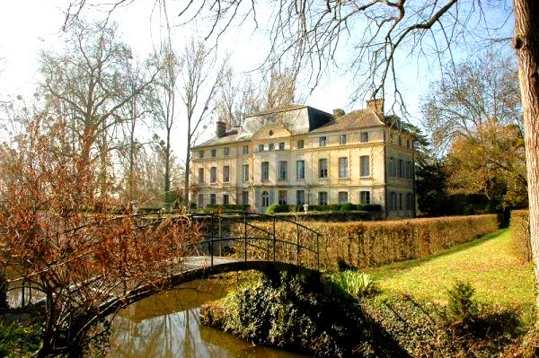 HOUSES OF CELEBRITIES: Chateau de Primard in Normandy France - the country house of Catherine Deneuve